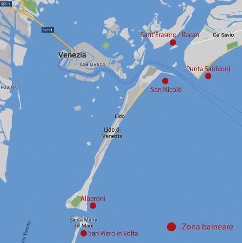 Cartina Spiagge Veneto.Farsi Il Bagno In Barca Le 7 Spiagge Piu Belle Di Venezia E Dintorni Noleggio Barche E Gommoni